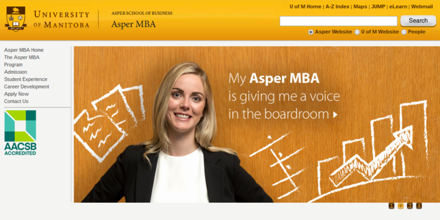 Asper School - MBA | Media Buying | Campaign Management | Google Analytics Reporting