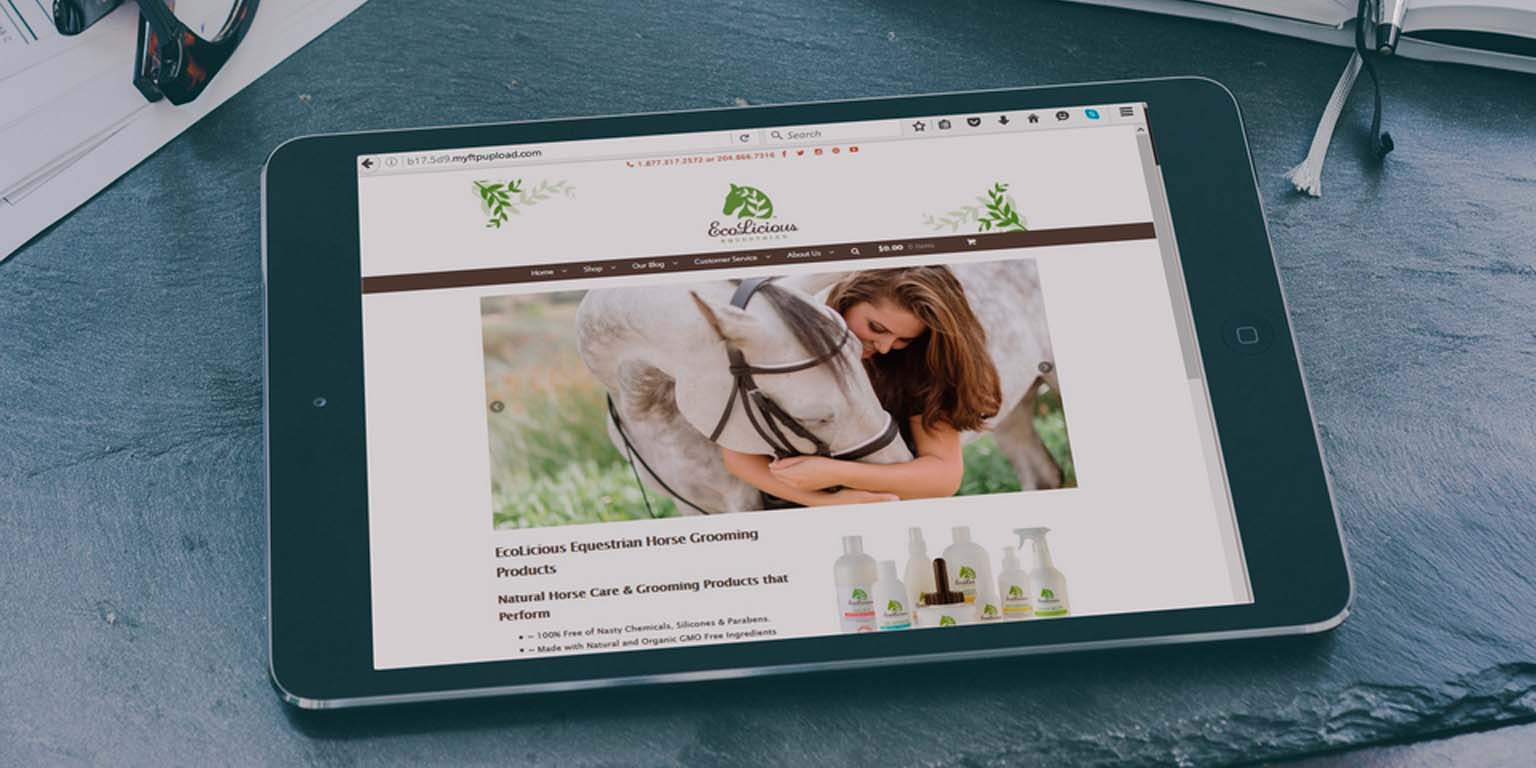 Ecolicious Equestrian | Web Development | Web Design