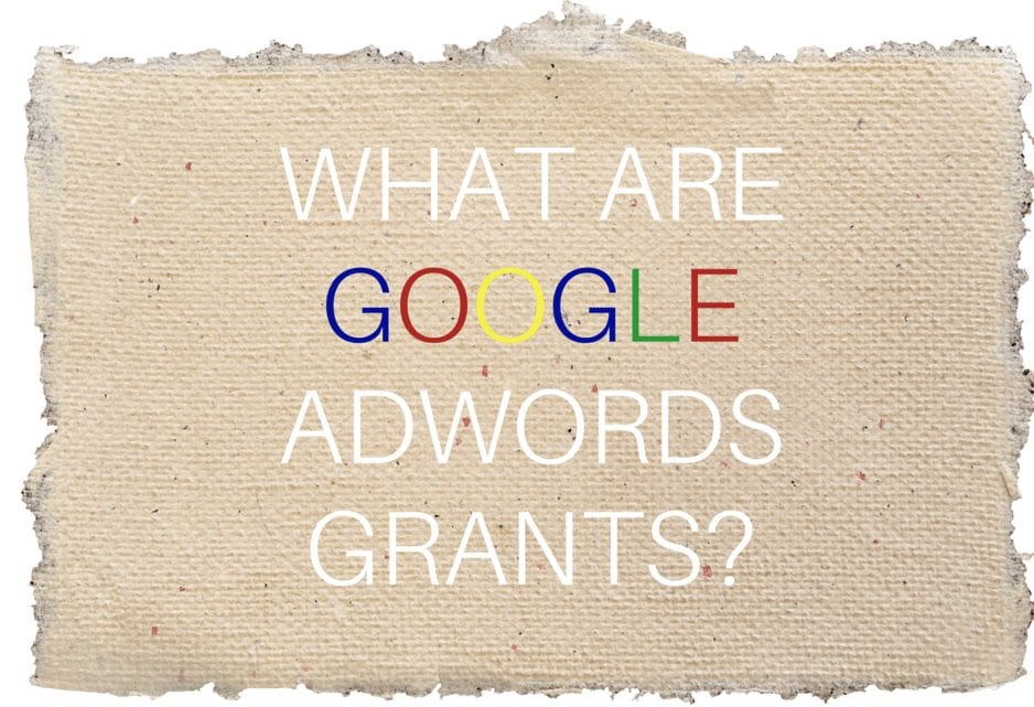 Google AdWords Grants